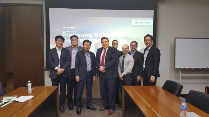 Samsung Sydkorea satsar globalt på Smartsign