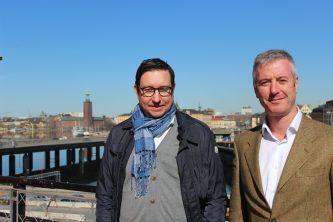 TV Peter Fredriksson och TH Tom Cahill