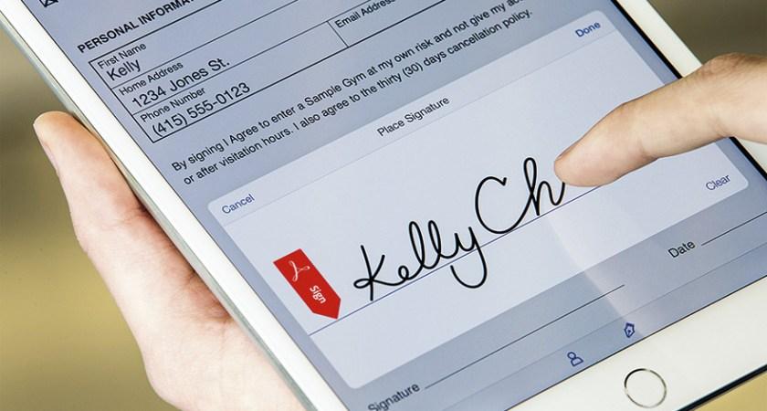 Adobe bakom branschinitiativ kring molnbaserade signaturer