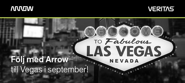 Följ med Arrow till Las Vegas i September
