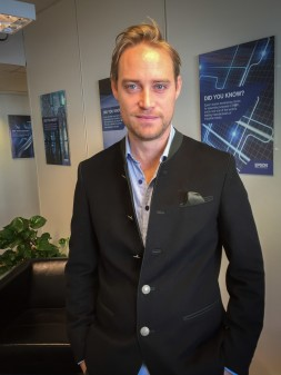 Axel Banér är ny Business Account Manager på Epson