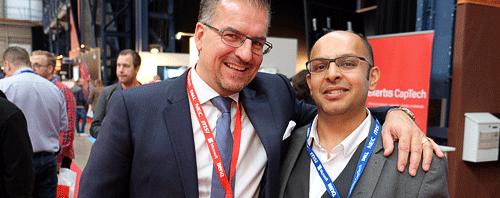 Daniel Johnsson och Hamid Raziullah