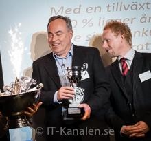 Bildspel: Fyra partner prisades på Dells nyårsfest