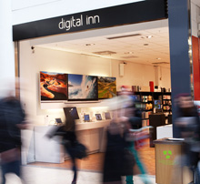Digital Inn i Täby Centrum