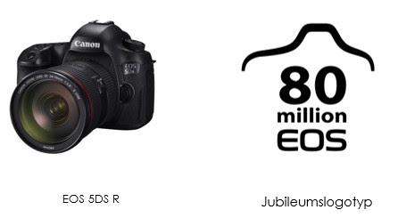Canon meddelar att 80 miljoner EOS-kameror har tillverkats