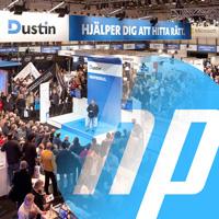 Därför medverkar HP på Dustin Expo
