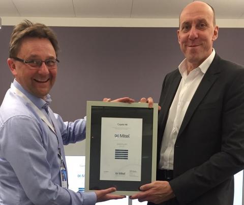 Cygate AB kan återigen stoltsera som Mitel Platinum Partner