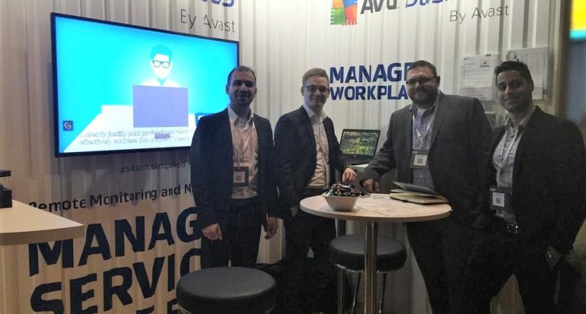 AVG ställde ut på Nordic Infrastructure Conference
