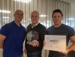 Ingram Micro Sverige fick det prestigefyllda priset Network Partner of the Year! 1