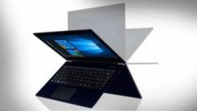Toshiba lanserar, världens tunnaste och lättaste 2-I-1 laptop för kontoret 1