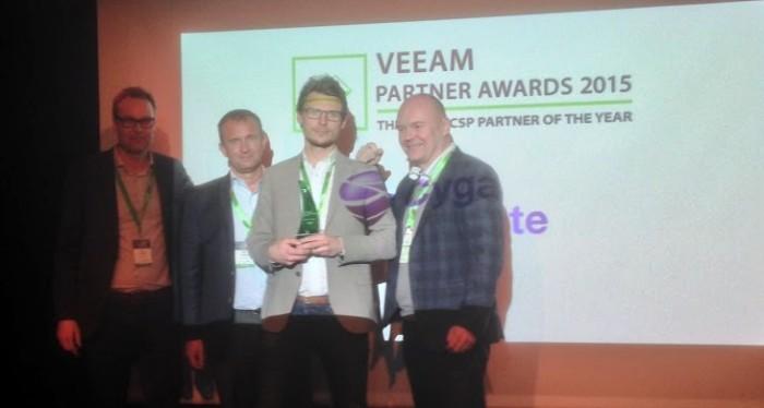 2015 har Veeam utsett Cygate till Årets molnleverantör