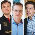 Johan Noren, Marcus Bengtsson, Åke Wieslander