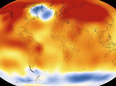 2015 the hottest year on record