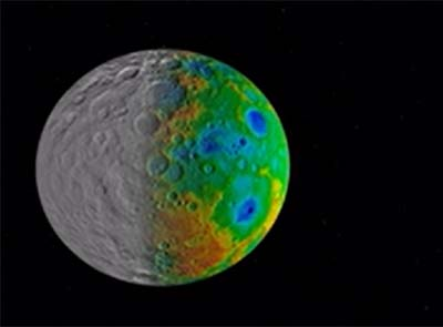 Mystery of the missing craters