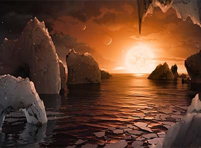 7 Earth-like planets found