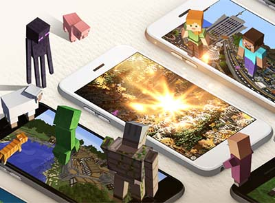 Microsoft debuts Minecraft coins, marketplace