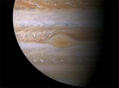Juno to fly over Jupiter's red spot
