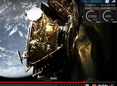 SpaceX launches Iridium satellites
