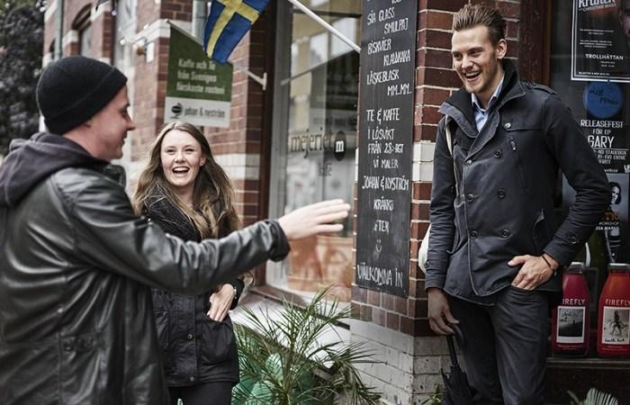 Högskolestudenter sätter sin prägel på Trollhättan