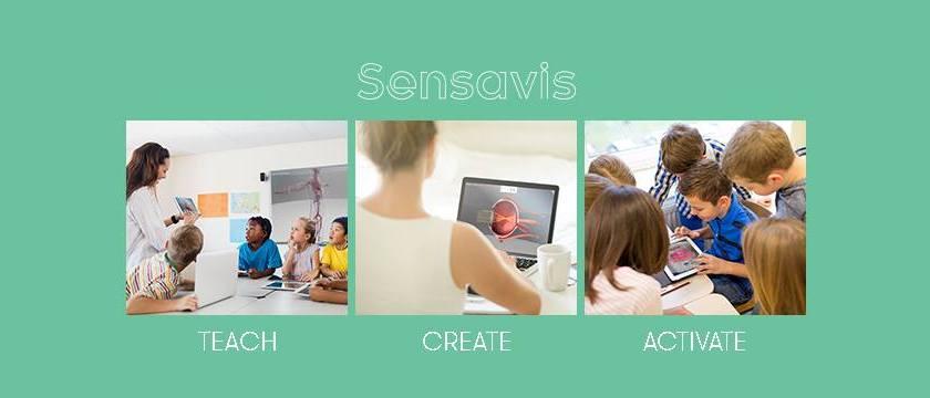 The 3D Classroom blir Sensavis
