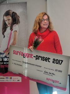 Elza Dunkels vinnare av Surfa Lugnt-priset 2017 3