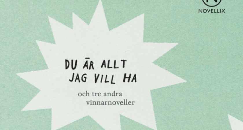 Fyra noveller av åttondeklassare blir bok efter nationell novelltävling