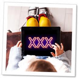 Barnappar på Google Play visar porrannonser
