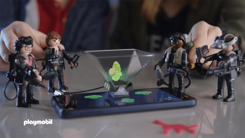 PLAYMOBIL väcker liv i sina leksaker med den helt nya hologramtekniken PLAYMOGRAM 3D