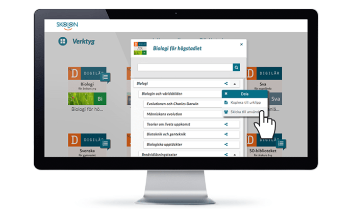 Förenklat digitalt lärande när Digilär lanserar tusentals djuplänkar i Skolon