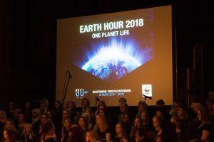 Rekordmånga kommuner deltog i Earth Hour 1
