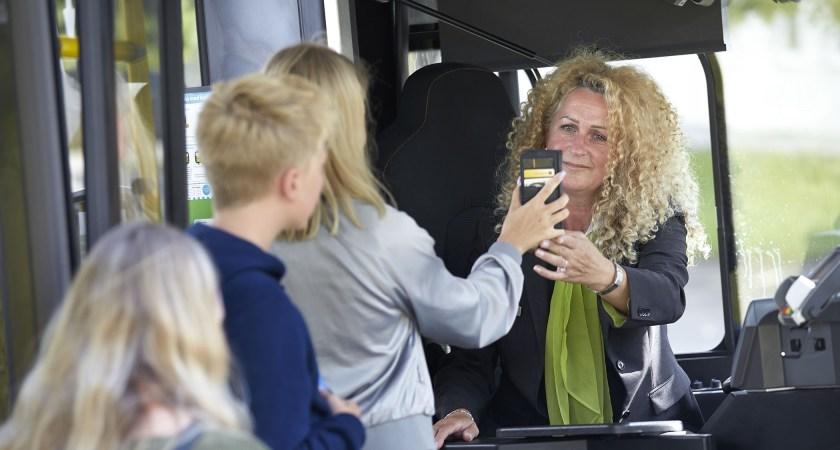 Avgiftsfri kollektivtrafik för elever under sommarlovet