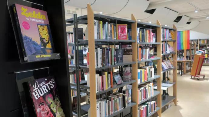Skolbibliotek i världsklass på Nacka Gymnasium