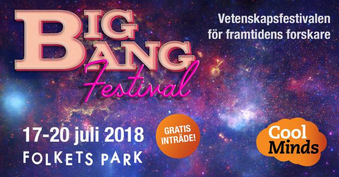 BIG BANG FESTIVAL – En vetenskapsfestival för framtidens forskare