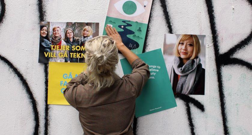 """""""Tjejer som vill gå teknik"""" på turné – Göteborg först ut"""