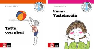 Natur & Kultur tillgängliggör Totte och Emma-böckerna på det nationella minoritetsspråket meänkieli 1