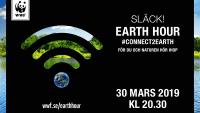 Agera för klimatet, naturen och arterna under Earth Hour