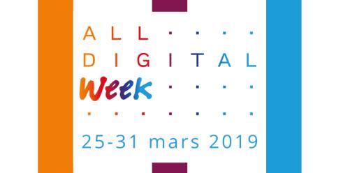 ALL DIGITAL Week 25-31 mars 2019 på Ronneby bibliotek