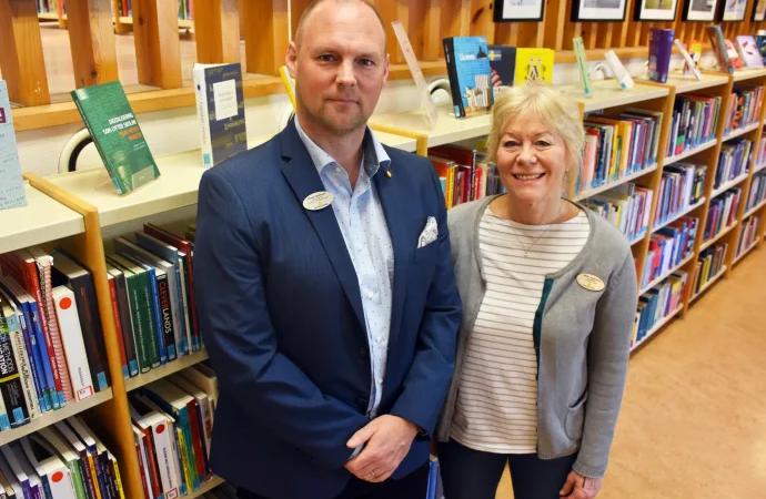 Biblioteket Älvkullen håller världsklass