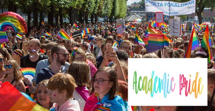 Ersta Sköndal Bräcke högskola deltar i Prideparaden