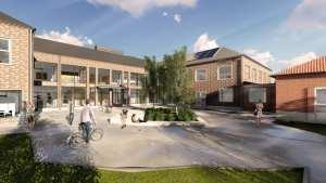 Nya Falkbergsskolan blir tillgänglig för alla 1