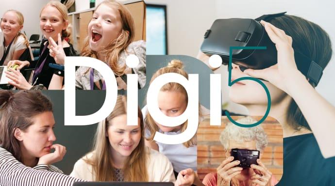 NOX Academy och Datatjej arrangerar Digi5 för att inspirera fler tjejer till teknik