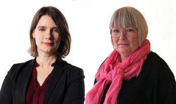 Anja Dahlstedt och Linda Lindström nya avdelningschefer på KB 2