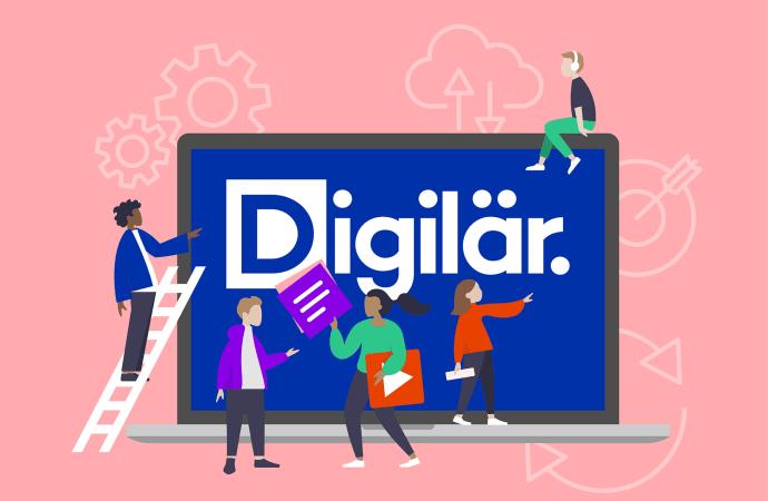 Digilär och ILT Inläsningstjänst satsar på utökat lässtöd i digitala läromedel