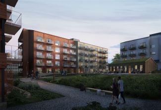 K2A startar nyproduktion av studentbostäder och LSS-boende i Sundsvall 1
