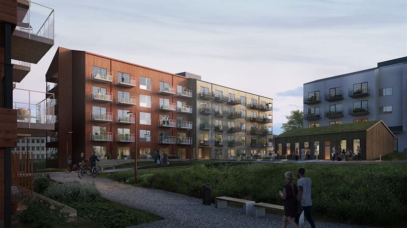 K2A startar nyproduktion av studentbostäder och LSS-boende i Sundsvall