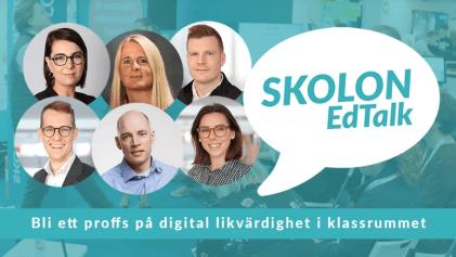 Digitalt event med Skolon EdTalk - bli ett proffs på digital likvärdighet i klassrummet 2
