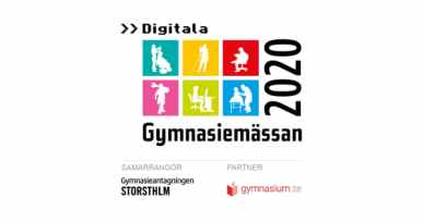Gymnasiemässan blir Digitala gymnasiemässan 2020 3
