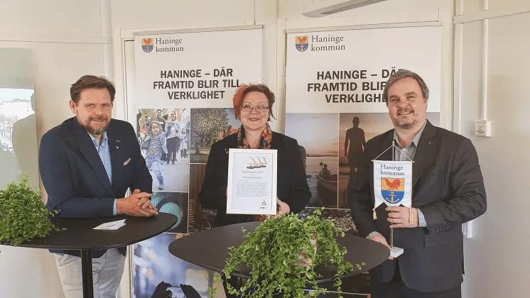 Haninge kommun vinner nationellt pris för säkra och trygga skolvägar