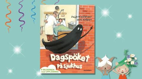 Dagspöket på sjukhus vinner Förskolebarnens litteraturpris 2021!