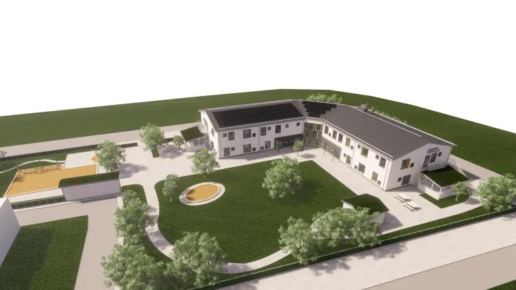 Hållbarhet i fokus när nya förskolor byggs i Uppsala
